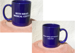 Custom logo ceramic mug